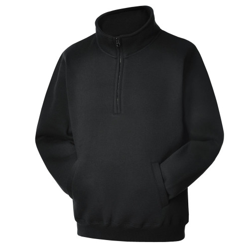 BLACK-Quarter-Zipped-Sweatshirt-ANGLED-Web